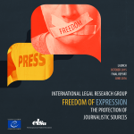 LRG on Freedom of Expression – Protection of Journalistic Sources